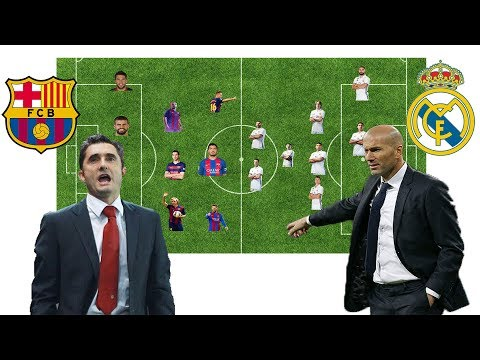 Barcelona vs Real Madrid   El Clasico Spanish Super Cup Final 2017 Score and Lineup Prediction