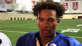 OU football - Kyler Murray on difference in football and baseball, Baker Mayfield