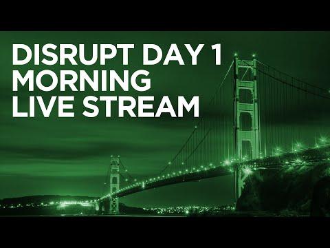 Disrupt SF 2016 Day 1 Morning