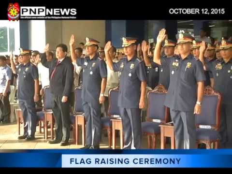 Flag Raising Ceremony (Oct. 12 2015)