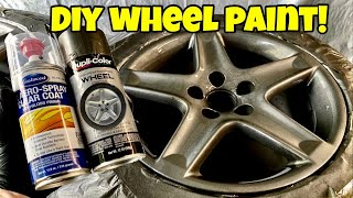 The Complete Guide to Painting Wheels in your Home Garage!