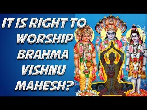 Video - It is right to worship Brahma Vishnu Mahesh? | Saint Rampal Ji English Satsang | SA NEWS         https://youtu.be/_vMp_PxD0vI