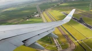 klm kl1149 737 700 amsterdam oslo safety takeoff inflight landing
