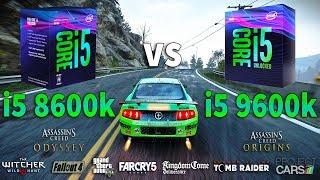 i5 9600k vs i5 8600k Test in 9 Games