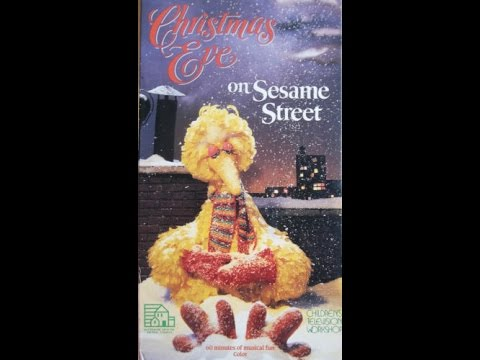 Opening & Closing To Christmas Eve On Sesame Street 1987 VHS - YouTube
