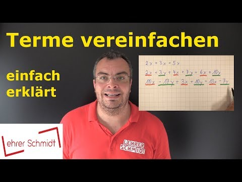 Terme vereinfachen (1) - Termumformung from YouTube · Duration:  7 minutes 5 seconds