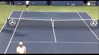 Ivo Karlovic defeats James Blake 1R US Open 13