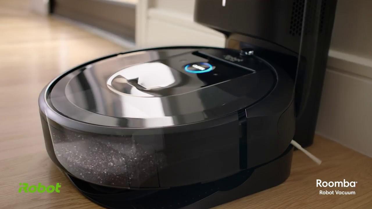 Un aspirateur robot qui se vide tout seul ! News