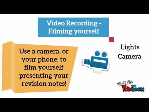 Revision Techniques: Recording Yourself Smarter!