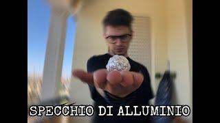 Quella volta in cui  provai a fare una palla di alluminio... ( alluminium foil challenge )