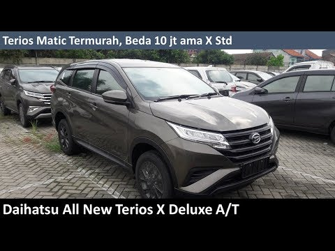 Daihatsu All New Terios X Dlx review - Indonesia