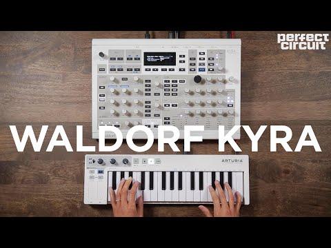 Waldorf Kyra Virtual Analog Synthesizer Sounds