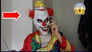 J'APPELLE UN CLOWN TUEUR IL ME MENACE !