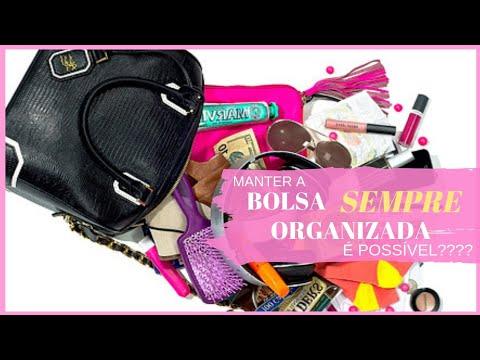 Como manter a bolsa SEMPRE organizada