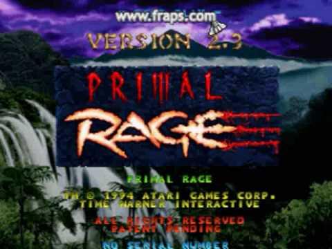 Random Primal Rage 2.3 Arcade Footage