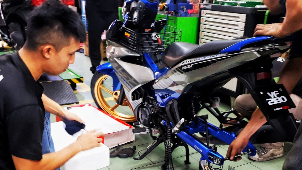 PASANG SWING ARM RACING BOY Y15ZR