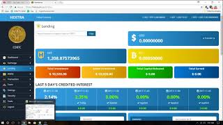 Hextra Coin Exchange And Lending How To Make Ove 40K In 3 Months