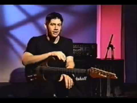 Wes Borland - Ibanez demonstration (without stupid My Way intersections)