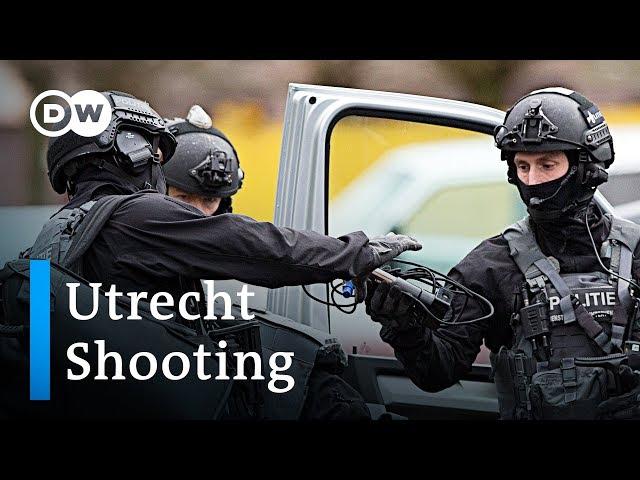 Manhunt for Utrecht shooter underway | DW News