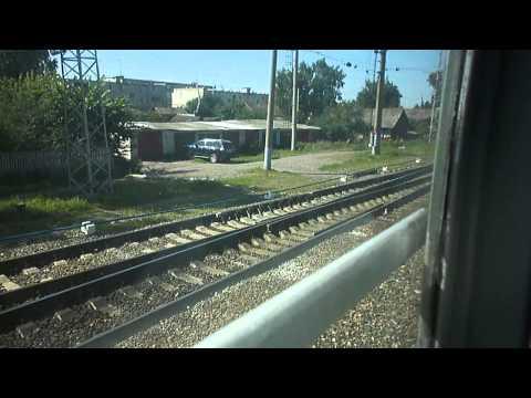 Отправление со станции Ковылкино
