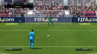 FIFA 14 Demo - PC Gameplay (Full Match + Penalties)