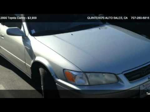 2000 Toyota Camry XLE V6 - for sale in VACAVILLE, CA 95688
