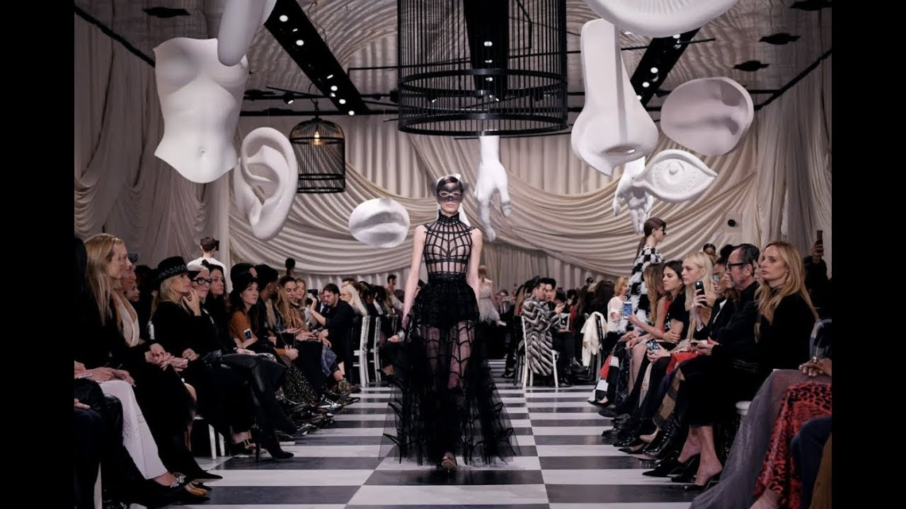 CHRISTIAN DIOR'S FREEMASON FASHION SHOW...