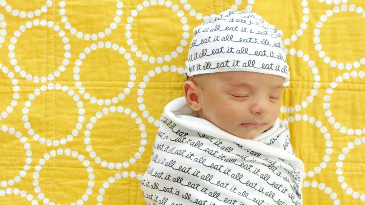 774766e4b00 How to Sew a Baby Hat - YouTube