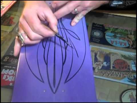 Pinstriping Basics With Dorr Youtube