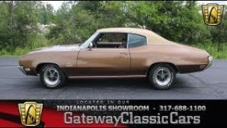 1970 Buick Grad Sport Stage 1 Stock Number 1073-NDY