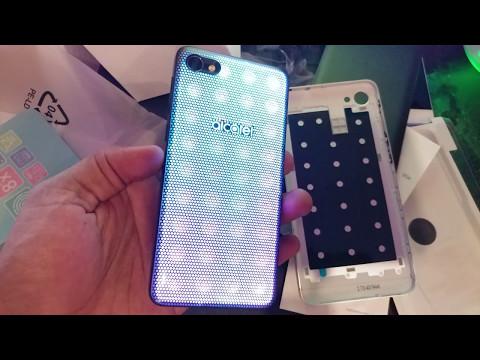 Alcatel A5 LED Unboxing