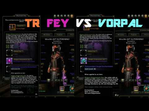 Neverwinter Feytouched VS Vorpal