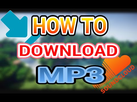How to download your own MP3 Sound cloud (ANDROID)