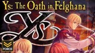 Ys: The Oath of Felghana Gameplay (PC)