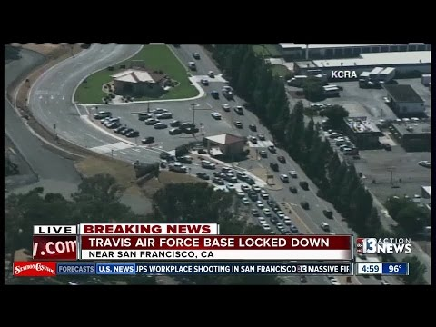 Northern California Air Force base on security lockdown