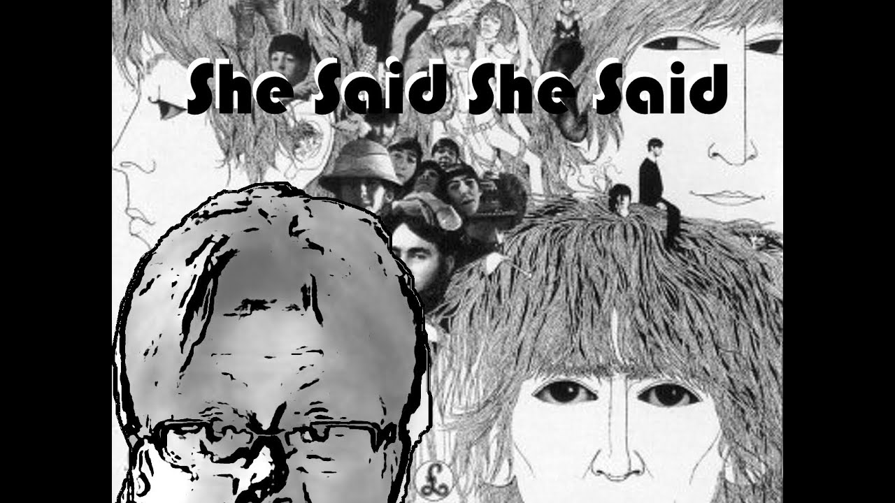 Image result for the beatles she said she said images