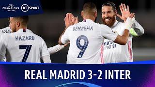 Real Madrid v Inter Milan (3-2) | Champions League Highlights