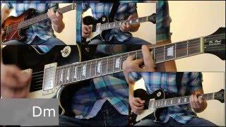 Как играть на гитаре Сказочная тайга - Агата Кристи  ( видеоурок Guitar riffs) + табы