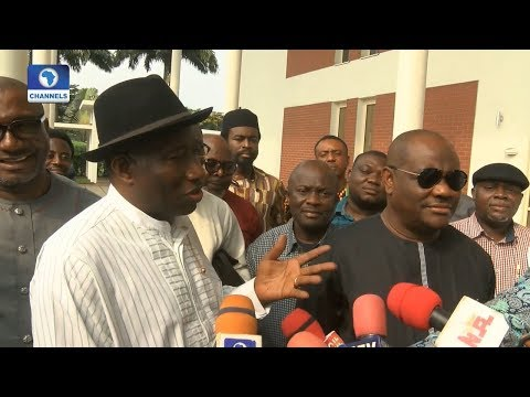 2019 Elections: PDP Will Emerge A Stronger Party-- Jonathan