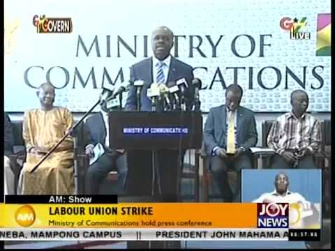 Ministry of Communication hold Press Conference