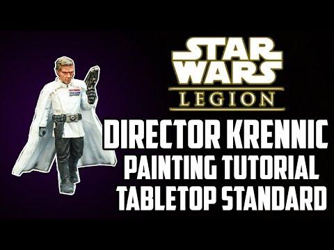 Director Krennic Painting Guide - Star Wars Legion - Basic Tabletop Standard