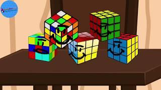 Rubik küp (Çizgi film)boş zamanlarında yaptığı bir şey bu!
