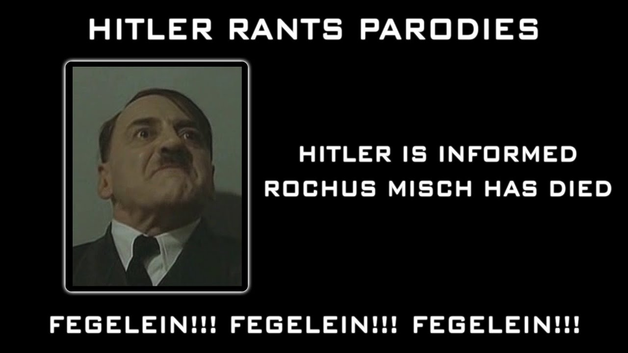 Hitler is informed Rochus Misch has died