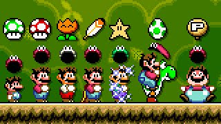 Super Mario World Odyssey - All Power-Ups. ᴴᴰ
