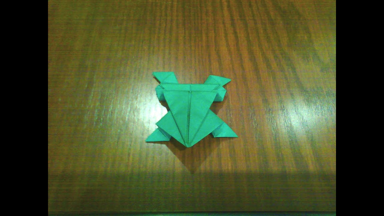 Origami Jumping Frog - YouTube - photo#23