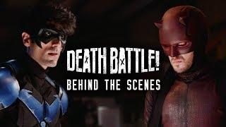 Nightwing vs Daredevil Death Battle - Behind the Scenes!