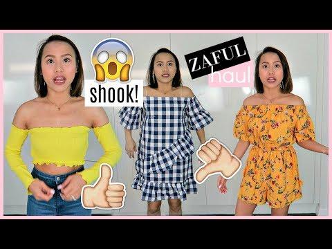 ZAFUL TRY ON HAUL & REVIEW (I'M SHOOK!) ❤️ | rhaze