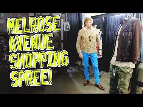 Shopping on Melrose Avenue!