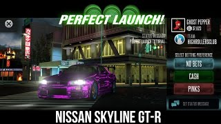 racing rivals nissan skyline gt r perfect launch tutorial
