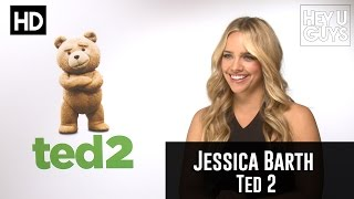 Jessica Barth Interview - Ted 2